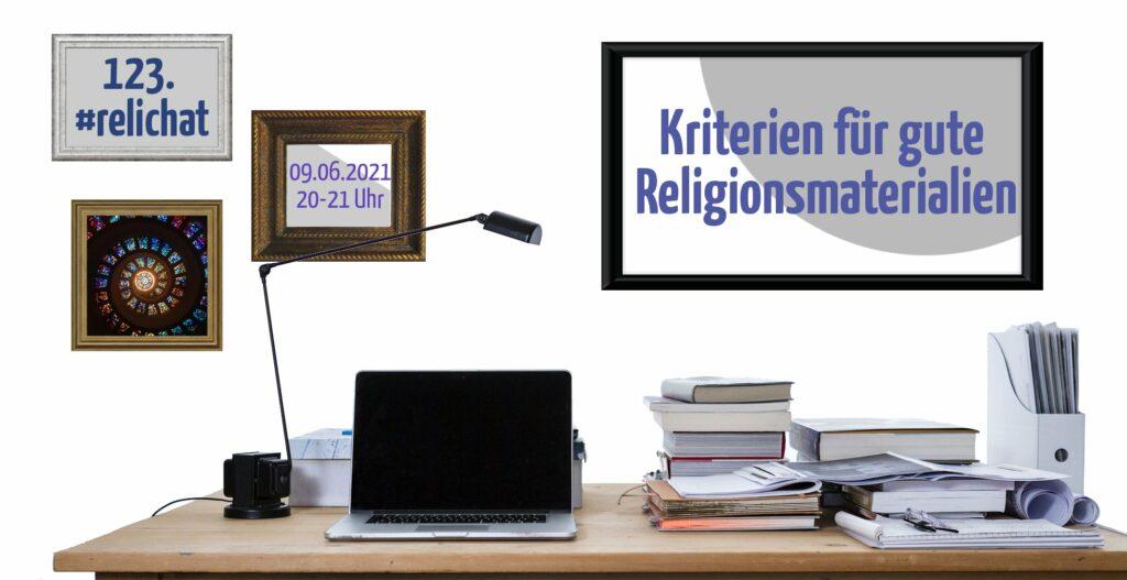 123. #relichat: Kriterien für gute Religionsmaterialien