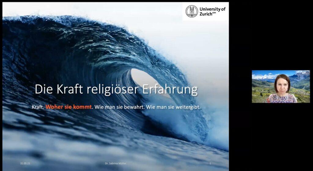 Sabrina Müller – Die Kraft religiöser Erfahrung